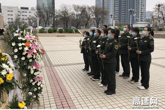 河北保沧公司朝阳路站学习党史 薪火相传