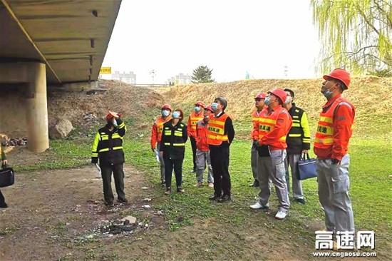 河北保沧公司组织召开养护项目施工方案现场评审会