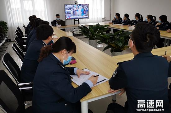 内蒙古海拉尔东通行费收费所开展消防安全培训