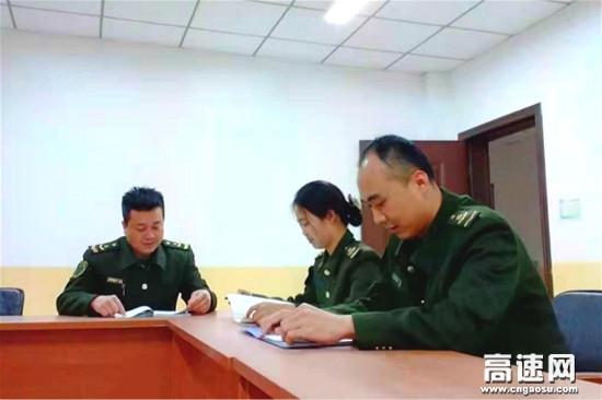 河北保沧公司韩村站出谋划策 服务先行