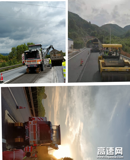 江西交工公路工程公司赣州管理中心2021年 路面养护工程LM标施工正式拉开序幕