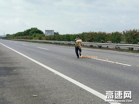 广西玉林高速公路桂平一大队积极践行阳光路政精神