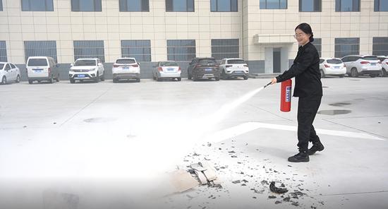 甘肃高速平凉收费所组织开展消防安全知识培训