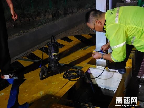 甘肃高速万泉站进行节前安全检查