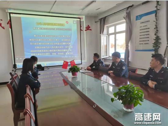 内蒙古阿荣旗北通行费收费所开展民族团结进步主题活动