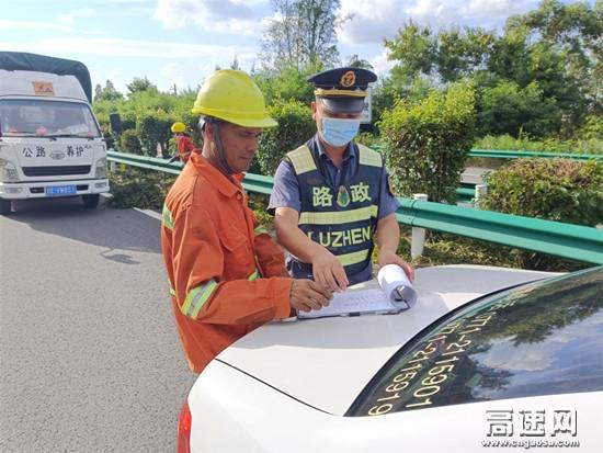 广西玉林分中心博白大队加强国庆节前施工检查
