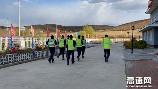 """内蒙古中和通行费收费所开展 """"国庆""""节前安全大检查及应急救援队伍训练活动"""