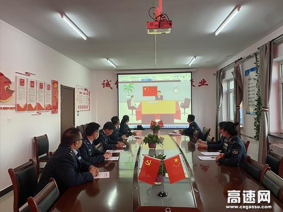 内蒙古阿荣旗北通行费收费所开展保密法宣传月活动